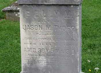 THORP, JASON M. - Lorain County, Ohio | JASON M. THORP - Ohio Gravestone Photos