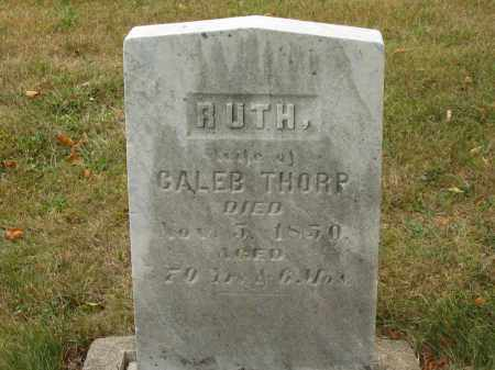 THORP, RUTH - Lorain County, Ohio | RUTH THORP - Ohio Gravestone Photos