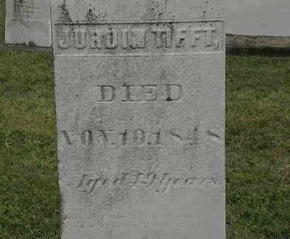TIFFT, JURDIN - Lorain County, Ohio | JURDIN TIFFT - Ohio Gravestone Photos