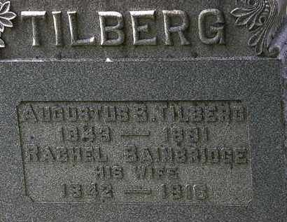 BAINBRIDGE TILBERG, RACHEL - Lorain County, Ohio | RACHEL BAINBRIDGE TILBERG - Ohio Gravestone Photos