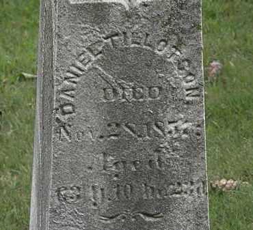 TILLOTSON, DANIEL - Lorain County, Ohio | DANIEL TILLOTSON - Ohio Gravestone Photos