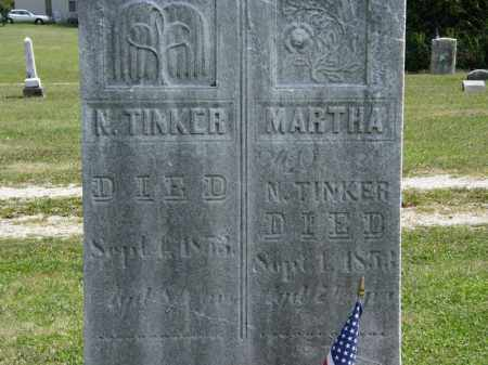 TINKER, MARTHA - Lorain County, Ohio | MARTHA TINKER - Ohio Gravestone Photos