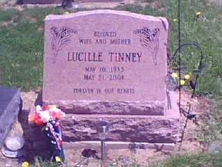 LILLY TINNEY, LUCILLE - Lorain County, Ohio | LUCILLE LILLY TINNEY - Ohio Gravestone Photos