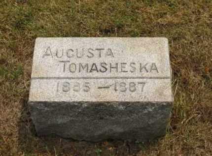 TOMASHESKA, AUGUSTA - Lorain County, Ohio | AUGUSTA TOMASHESKA - Ohio Gravestone Photos