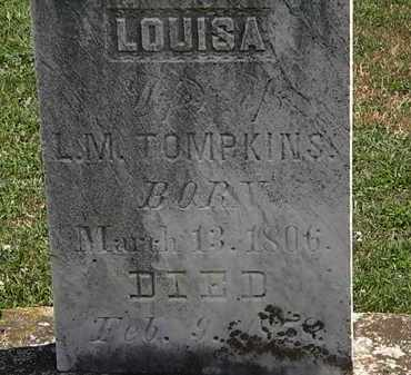 TOMPKINS, LOUISA - Lorain County, Ohio | LOUISA TOMPKINS - Ohio Gravestone Photos