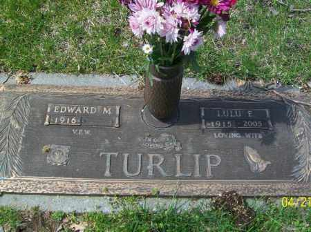 TURLIP, EDWARD M. - Lorain County, Ohio | EDWARD M. TURLIP - Ohio Gravestone Photos