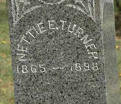 TURNER, NETTIE E. - Lorain County, Ohio | NETTIE E. TURNER - Ohio Gravestone Photos