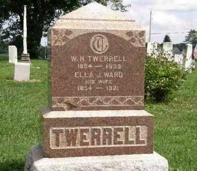 TWERRELL, ELLA J. - Lorain County, Ohio | ELLA J. TWERRELL - Ohio Gravestone Photos