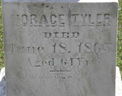 TYLER, HORACE - Lorain County, Ohio | HORACE TYLER - Ohio Gravestone Photos