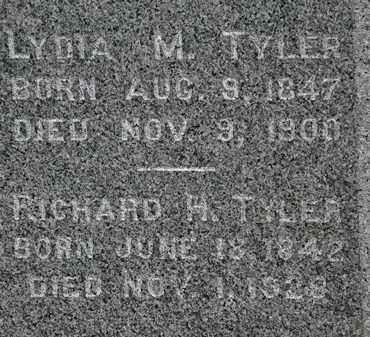 TYLER, RICHARD H. - Lorain County, Ohio | RICHARD H. TYLER - Ohio Gravestone Photos