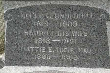 UNDERHILL, HATTIE E. - Lorain County, Ohio | HATTIE E. UNDERHILL - Ohio Gravestone Photos