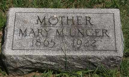UNGER, MARY M. - Lorain County, Ohio | MARY M. UNGER - Ohio Gravestone Photos