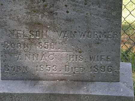 VAN WORMER, NELSON - Lorain County, Ohio | NELSON VAN WORMER - Ohio Gravestone Photos