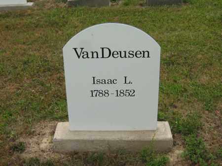 VANDEUSEN, ISSAC L. - Lorain County, Ohio | ISSAC L. VANDEUSEN - Ohio Gravestone Photos