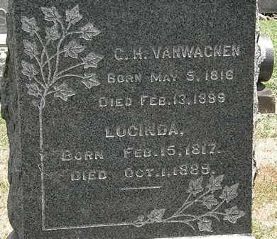 VANWAGNEN, C.H. - Lorain County, Ohio | C.H. VANWAGNEN - Ohio Gravestone Photos