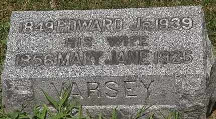 VARSEY, EDWARD JR. - Lorain County, Ohio | EDWARD JR. VARSEY - Ohio Gravestone Photos