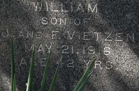 VIETZEN, WILLIAM - Lorain County, Ohio | WILLIAM VIETZEN - Ohio Gravestone Photos