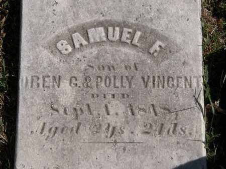 VINCENT, POLLY - Lorain County, Ohio | POLLY VINCENT - Ohio Gravestone Photos