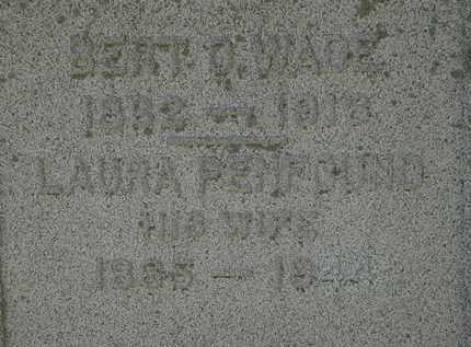 PENFOUND WADE, LAURA - Lorain County, Ohio | LAURA PENFOUND WADE - Ohio Gravestone Photos