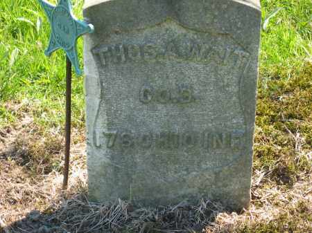 WAIT, THOS. A. - Lorain County, Ohio | THOS. A. WAIT - Ohio Gravestone Photos