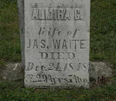 WAITE, JAS. - Lorain County, Ohio | JAS. WAITE - Ohio Gravestone Photos