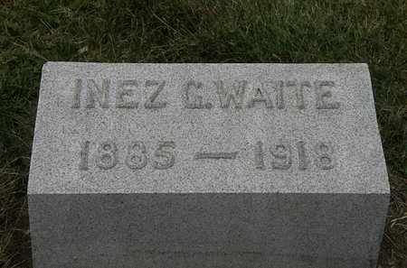 WAITE, INEZ C. - Lorain County, Ohio | INEZ C. WAITE - Ohio Gravestone Photos
