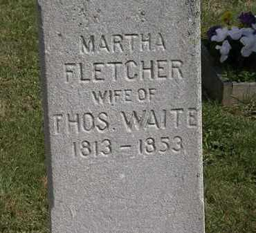 WAITE, THOS. - Lorain County, Ohio | THOS. WAITE - Ohio Gravestone Photos