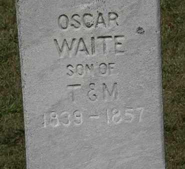 WAITE, OSCAR - Lorain County, Ohio | OSCAR WAITE - Ohio Gravestone Photos