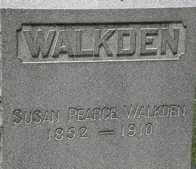 PEARCE WALKDEN, SUSAN - Lorain County, Ohio | SUSAN PEARCE WALKDEN - Ohio Gravestone Photos
