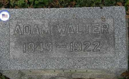 WALTER, ADAM - Lorain County, Ohio   ADAM WALTER - Ohio Gravestone Photos