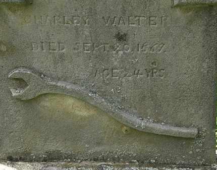 WALTER, CHARLEY - Lorain County, Ohio | CHARLEY WALTER - Ohio Gravestone Photos