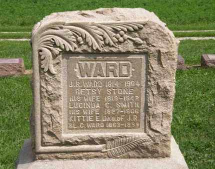 WARD, BETSY - Lorain County, Ohio | BETSY WARD - Ohio Gravestone Photos
