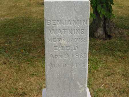 WATKINS, BENJAMIN - Lorain County, Ohio | BENJAMIN WATKINS - Ohio Gravestone Photos