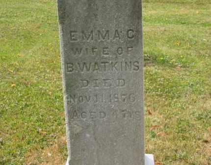 WATKINS, B. - Lorain County, Ohio | B. WATKINS - Ohio Gravestone Photos