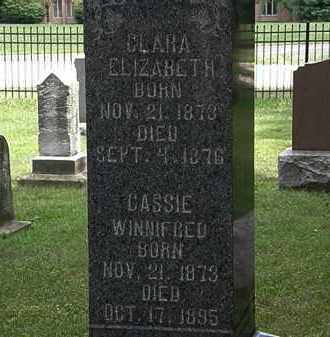 WATSON, CASSIE WINIFRED - Lorain County, Ohio | CASSIE WINIFRED WATSON - Ohio Gravestone Photos