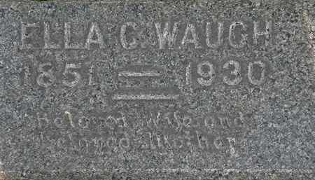 WAUGH, ELLA C. - Lorain County, Ohio | ELLA C. WAUGH - Ohio Gravestone Photos