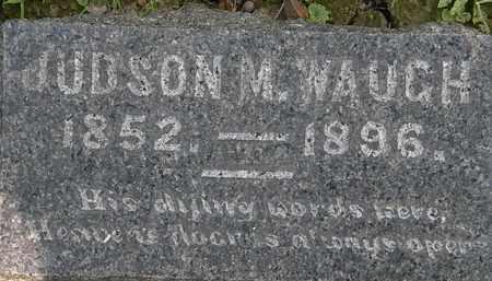 WAUGH, JUDSON M. - Lorain County, Ohio   JUDSON M. WAUGH - Ohio Gravestone Photos