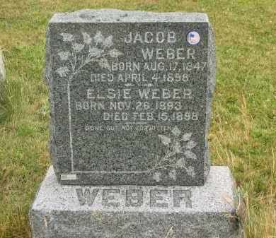 WEBER, JACOB - Lorain County, Ohio | JACOB WEBER - Ohio Gravestone Photos