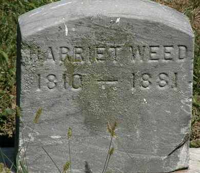 WEED, HARRIET - Lorain County, Ohio | HARRIET WEED - Ohio Gravestone Photos