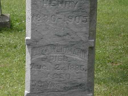 WEIDMANN, HENRY - Lorain County, Ohio | HENRY WEIDMANN - Ohio Gravestone Photos