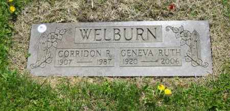 WELBURN, GENEVA RUTH - Lorain County, Ohio | GENEVA RUTH WELBURN - Ohio Gravestone Photos