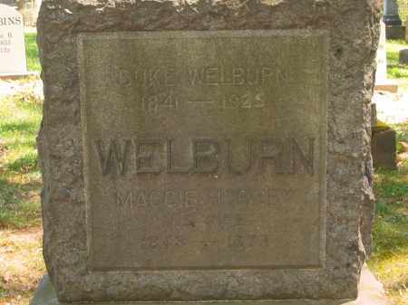 WELBURN, DUKE - Lorain County, Ohio | DUKE WELBURN - Ohio Gravestone Photos