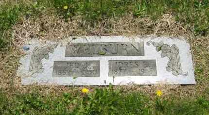 WELBURN, IDRES E. - Lorain County, Ohio | IDRES E. WELBURN - Ohio Gravestone Photos