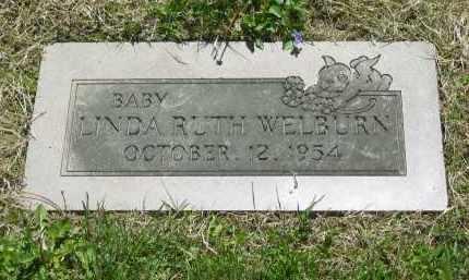 WELBURN, LINDA RUTH - Lorain County, Ohio | LINDA RUTH WELBURN - Ohio Gravestone Photos