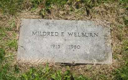 WELBURN, MILDRED E. - Lorain County, Ohio | MILDRED E. WELBURN - Ohio Gravestone Photos