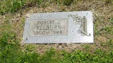 WELBURN, ROBERT J. - Lorain County, Ohio | ROBERT J. WELBURN - Ohio Gravestone Photos