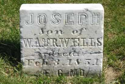 WELLS, JOSEPH - Lorain County, Ohio | JOSEPH WELLS - Ohio Gravestone Photos