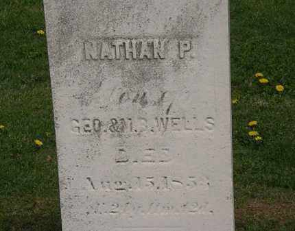 WELLS, NATHAN P. - Lorain County, Ohio | NATHAN P. WELLS - Ohio Gravestone Photos