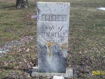 WELLS, REBECCA - Lorain County, Ohio   REBECCA WELLS - Ohio Gravestone Photos