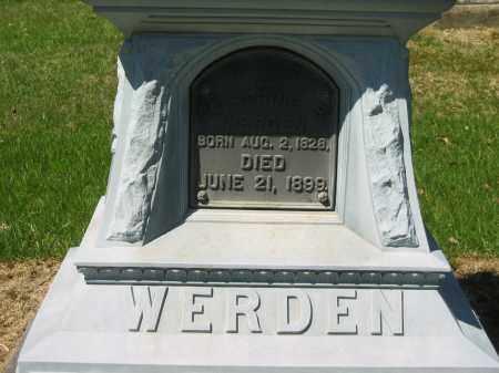 WERDEN, CATHERINE S. - Lorain County, Ohio | CATHERINE S. WERDEN - Ohio Gravestone Photos